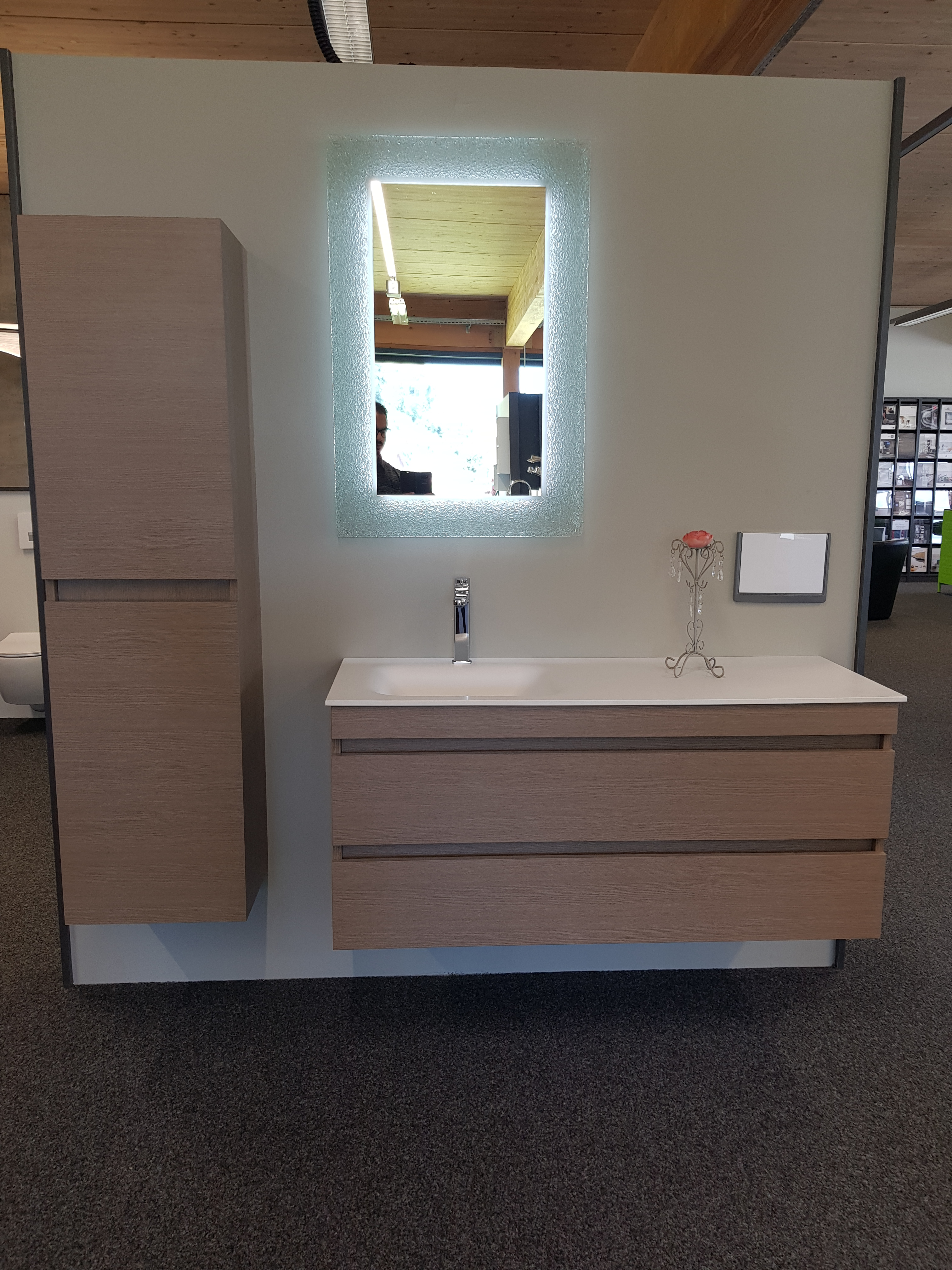 Ensemble meuble-lavabo Stile-Corian Moda
