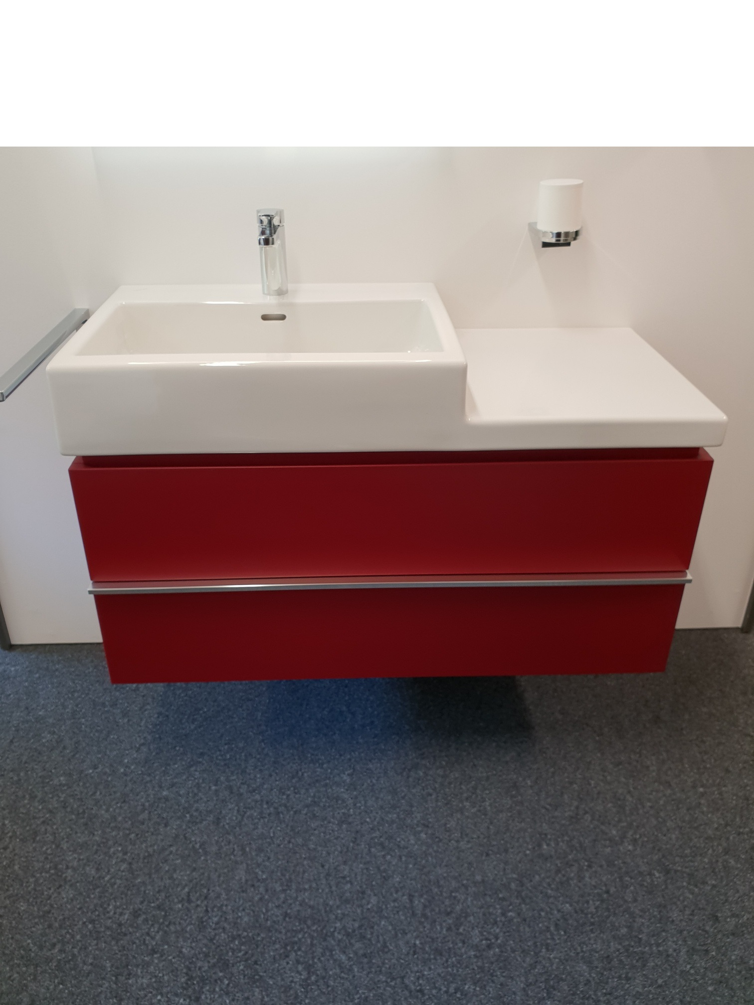 Lavabo living city avec tablette 100x46cm